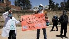 Covid-19: Bolívia tem funerárias e cemitérios sobrecarregados
