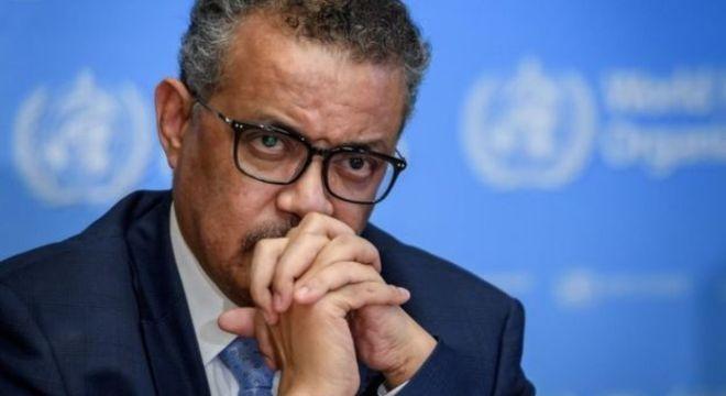 Tedros Ghebreyesus, diretor-geral da OMS, disse que declaração de pandemia não muda ações da OMS sobre o novo coronavírus