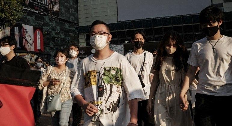 Japão tem aumento de casos de covid-19 durante as Olimpíadas