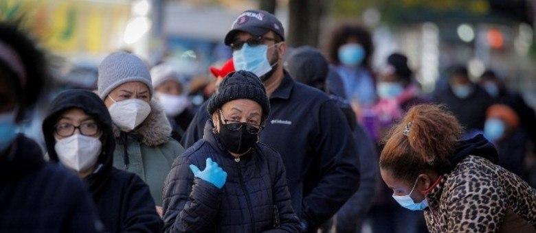 EUA registram mais de 18 milhões de casos de covid-19 no país