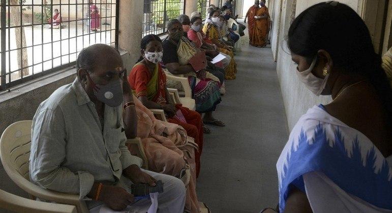 Índia ultrapassou a marca de 190 mil mortes por covid-19 desde o início da pandemia