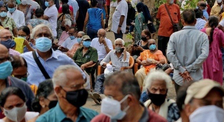 Índia atinge recorde de casos de covi-19 pelo quinto dia seguido