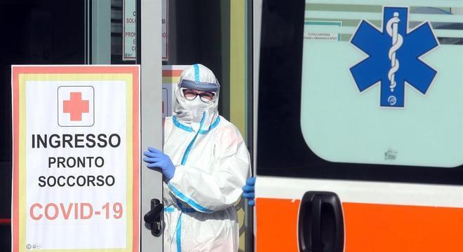 Itália superou a marca de 1 milhão de casos de covid-19
