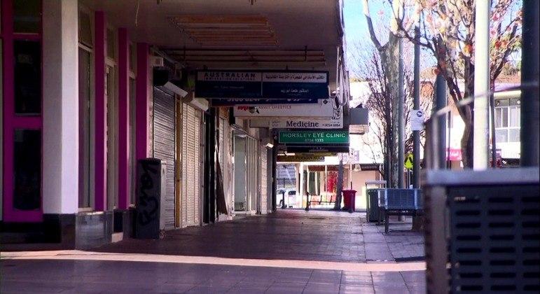 Lockdown não conseguiu conter surto da doença em Sydney