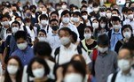 Japão tem recorde de casos de covid-19 durante as Olimpíadas