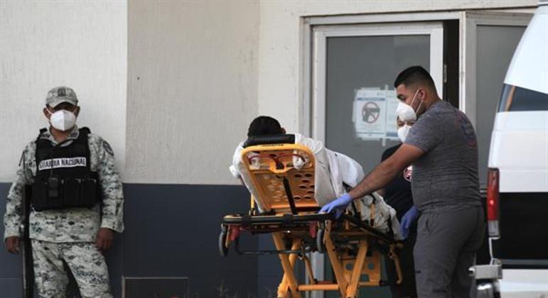 México é o terceiro país com mais mortes por covid-19