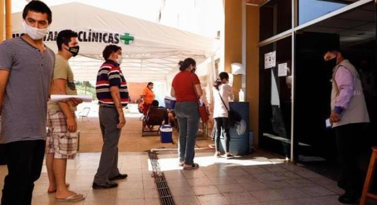 Paraguai superou 400 mil casos e 11 mil mortes desde o início da pandemia