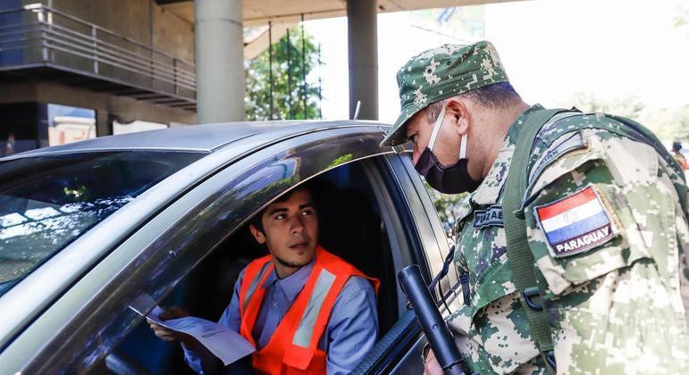 Paraguai anuncia novas restrições até 10 de maio para conter a covid-19 no país