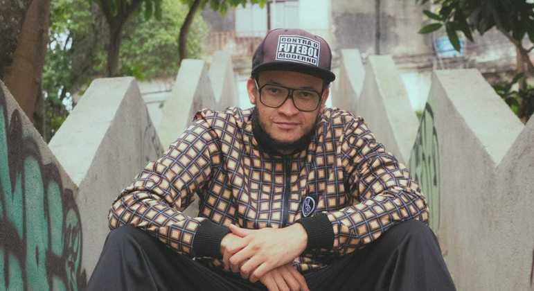 Rapper Samuel Porfirio é morador de Itaquera, na zona leste de São Paulo