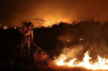 Região sofre com incêndios desde julho