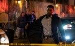 Chadwick Boseman em 'Crime sem Saída' — Foto: Reprodução