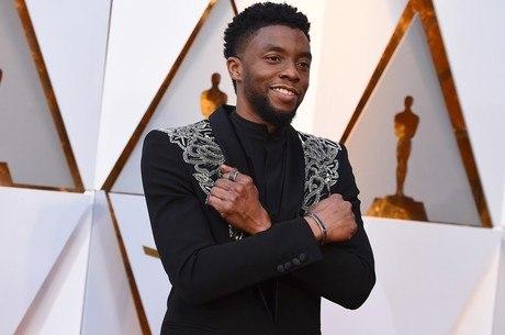 Chadwick na noite da entrega do Oscar