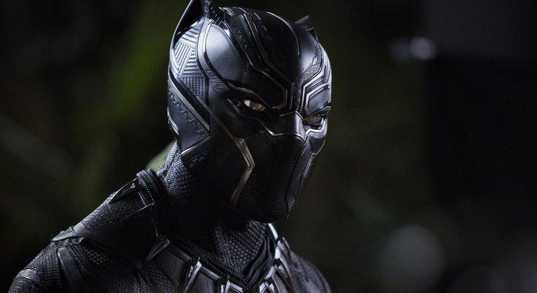 Pantera Negra em cena de seu primeiro filme