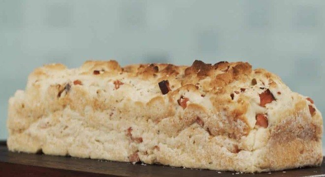 Pão com peito de peru sem glúten e sem lactose