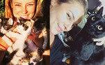 Paolla Oliveira já pode levar o prêmio de celebridade louca dos gatos. A atriz já chegou a ter 11 felinos em casa— todos com nome e sobrenome— e não perde a oportunidade de postar fotos dos seus filhos nas redes