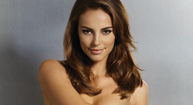A atriz Paolla Oliveira, que teve fotos vazadas durante gravação de série para a TV Globo