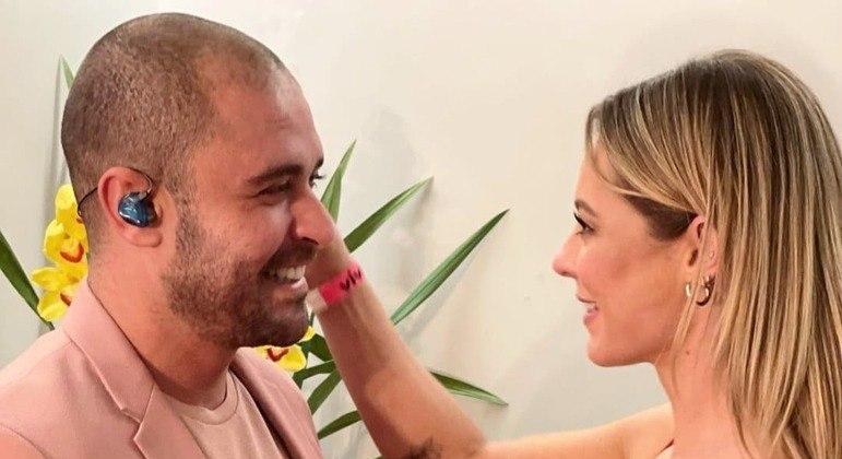 Paolla Oliveira elogia Diogo Nogueira e fãs reagem: 'Você não era assim'
