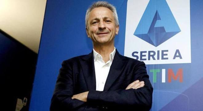 Paolo Dal Pino, o presidente da Liga Série A