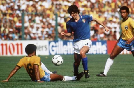 Paolo Rossi marcou três gols contra Brasil em 1982