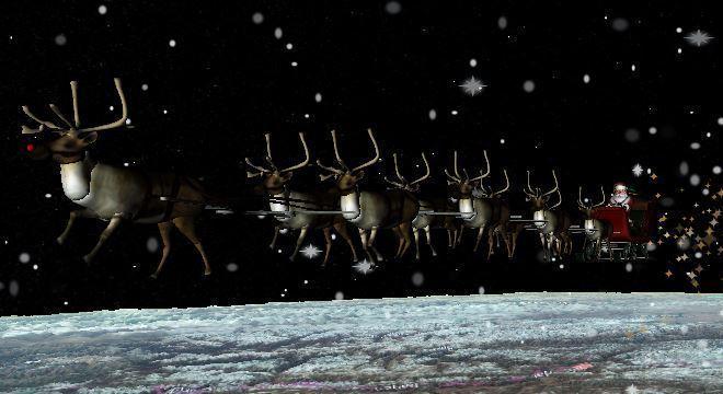 Papai Noel iniciou as entregas dos presentes na Ásia e na Oceania