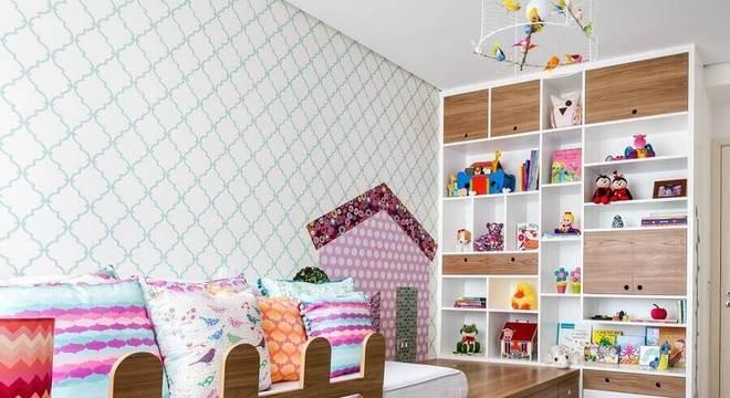 papel de parede para quarto infantil