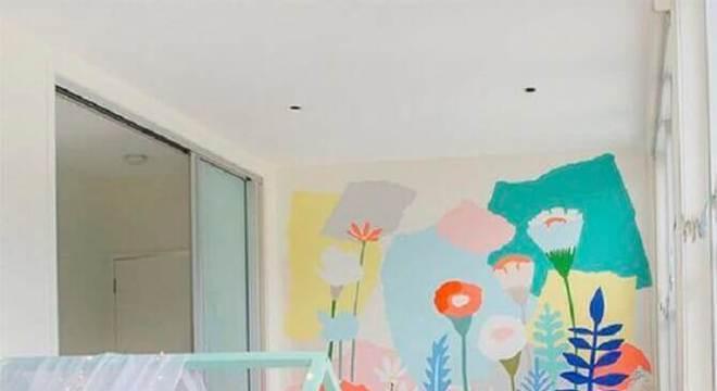 papel de parede para quarto infantil montessoriano
