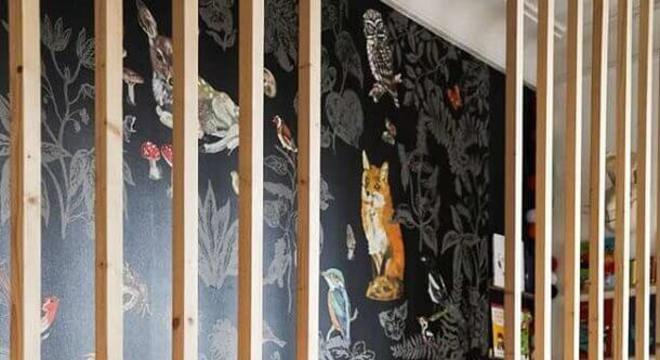 papel de parede para quarto infantil planejado