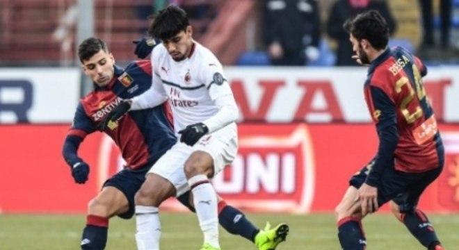 Paquetá teve boa atuação pelo Milan