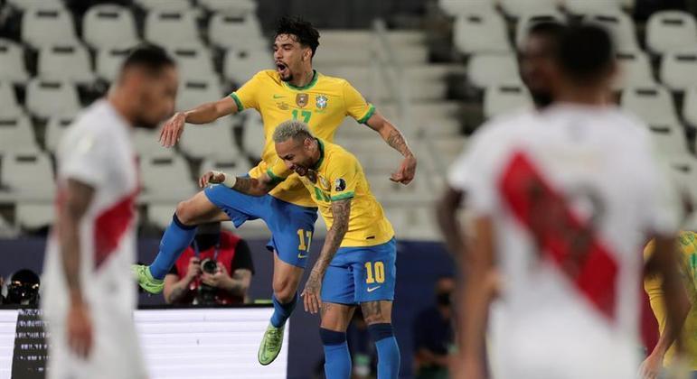 Lucas Paquetá e Neymar foram os grandes responsáveis pela vitória do Brasil