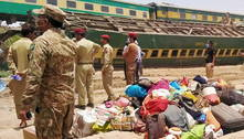 Acidente ferroviário deixa 40 mortos no sul do Paquistão