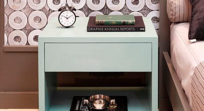 Para ambientes clean priorize itens com tonalidades neutras