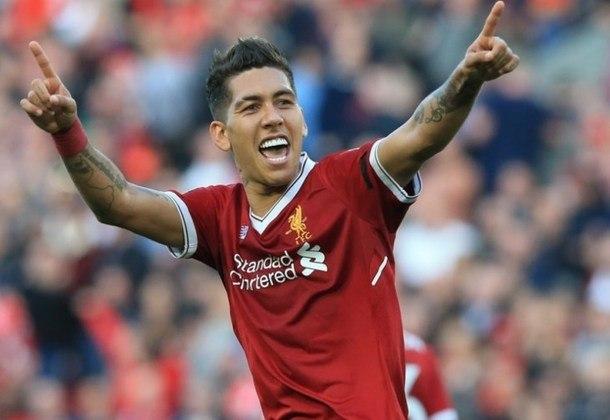Para fechar a lista de brasileiros com 13 passes para gol na competição europeia, temos Roberto Firmino, atacante do Liverpool.