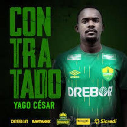 Para fechar a lista do Athletico, o atacante Yago César foi emprestado ao Cuiabá até  janeiro de 2021. Já seu contrato com o Furacão termina em dezembro de 2022.