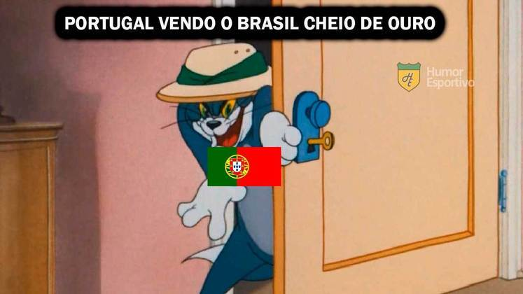 Para finalizar, o desempenho do Brasil nos Jogos Olímpicos, conquistando 7 medalhas de ouro (e 21 medalhas no total), fez a web brincar com fato histórico envolvendo a exploração do ouro por Portugal.