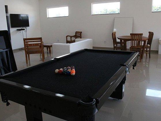 Para o lazer, o local de treinamentos do Red Bull Bragantino possui uma área de jogos, com mesa de sinuca.