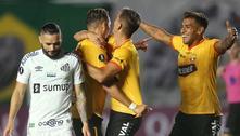 Santos cai para o Barcelona-EQU na estreia no Grupo C da Libertadores