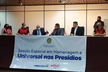 UNP recebeu homenagem na Assembleia do Pará