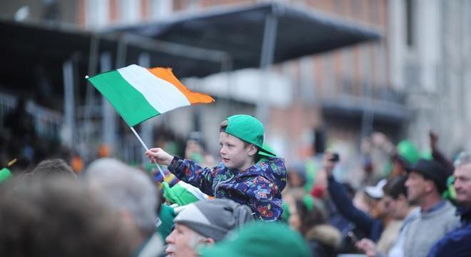 O St. Patrick's Day é o principal feriado nacional da República da Irlanda