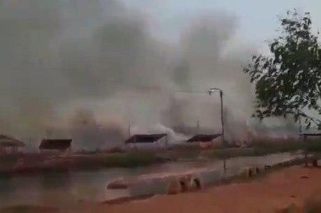 Incêndios florestais continuam avanço no Paraguai