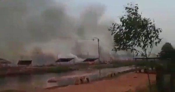 Paraguai decreta emergência nacional por incêndios no Chaco