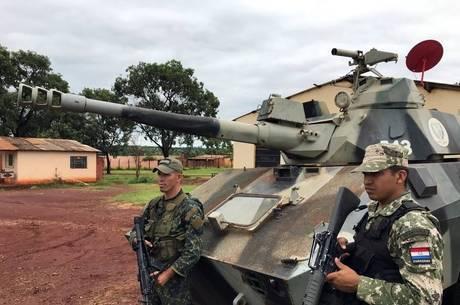 Exército reforça patrulhamento em Pedro Juan Caballero