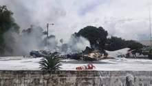 Queda de avião militar no Paraguai deixa ao menos 7 mortos