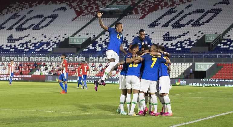 Lucas Paquetá confirmou a vitória importante. Para mostrar a superioridade na América do Sul