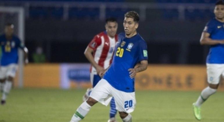 Paraguai x Brasil - Roberto Firmino