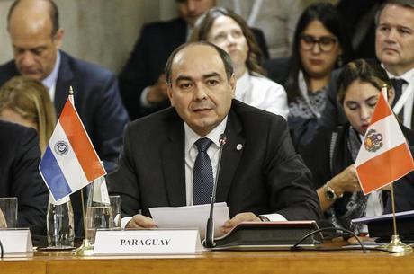 Chanceler paraguaio, Antonio Rivas Palacios