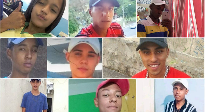 Nove mortos em Paraisópolis tinham entre 14 e 23 anos