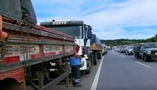 Caminhoneiros voltam a protestar contra alta do diesel em Minas