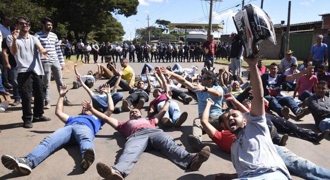 Paralisação dos caminhoneiros pode interferir na rodada do Brasileirão