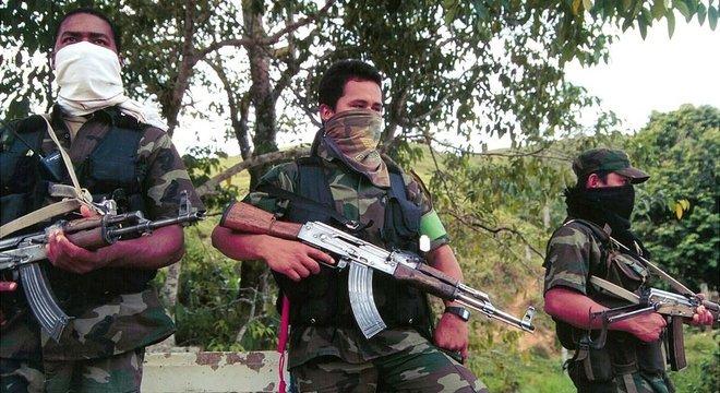 A guerrilha das Farc permaneceu ativa entre 1964 e 2017