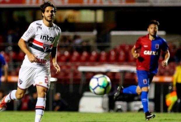 Paraná (2018): Neste ano, o tricolor paranaense somou apenas nove pontos no segundo turno.